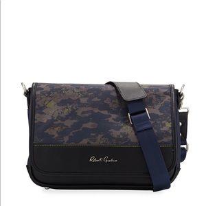 Robert Graham Cormac Camo-Print Messenger Bag